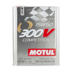 Motul 300V Competition Engine Oil - 15W50 (2L)