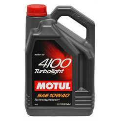 Motul 4100 Turbolight Engine Oil - 10W40 5L
