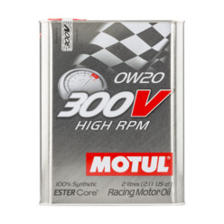 Motul 300V High RPM Engine Oil - 0W20 (2L)