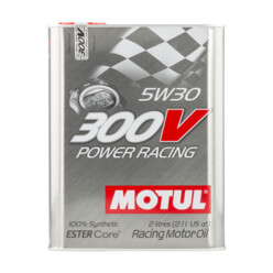 Motul 300V Power Racing Engine Oil - 5W30 (2L)