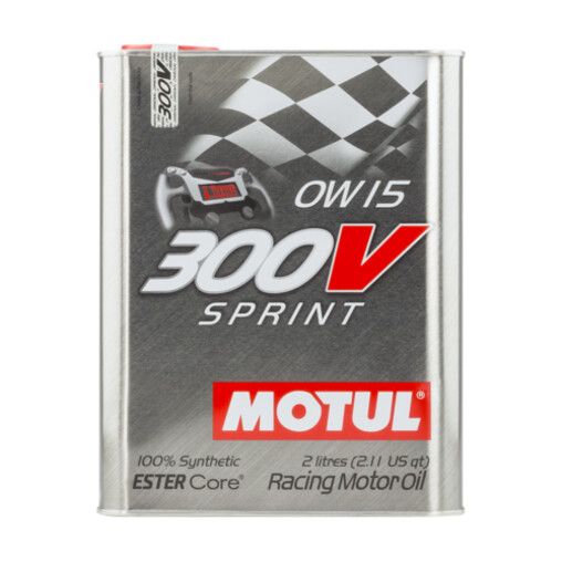 Motul 300V Sprint Engine Oil - 0W15 (2L)