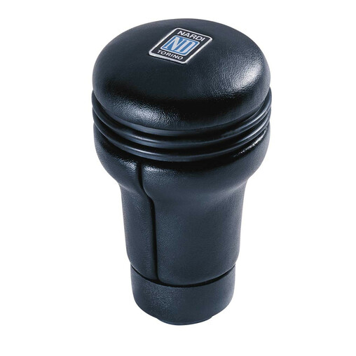 Nardi Evolution Shift Knob in Black Leather