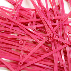 Cable Ties, Pack of 100 - Pink