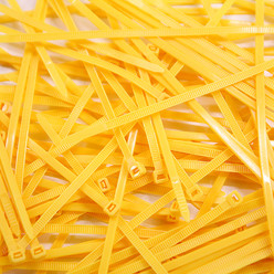 Cable Ties, Pack of 100 - Fluo Yellow