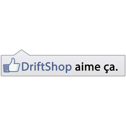 """DriftShop Likes It"" Sticker"