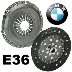 Sachs Uprated Organic Clutch Kit for BMW M3 E36