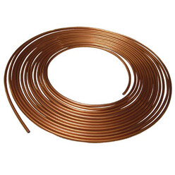 Copper Brake Hose - 10m Roll