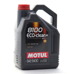 Motul 5W30 8100 Eco Clean + Engine Oil (Mazda DPF) 5L
