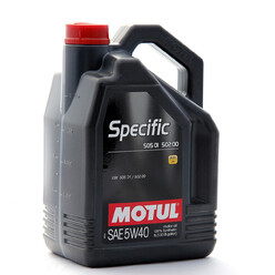 Motul 5W40 Specific 505 01 502 00 Engine Oil (VAG Diesel) 5L