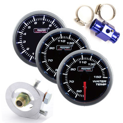 Prosport Triple Gauge Package - Water/Oil