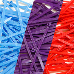 "Pack of 300 Cable Ties - Colours ""BMW Motorsport"""