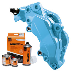 Foliatec Sky Blue Brake Caliper Paint