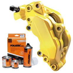 Foliatec Yellow Brake Caliper Paint