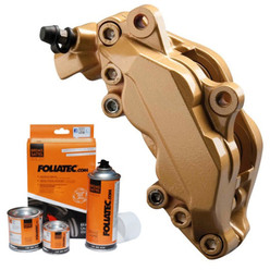 Foliatec Gold Brake Caliper Paint