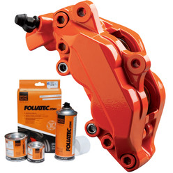Foliatec Orange Brake Caliper Paint