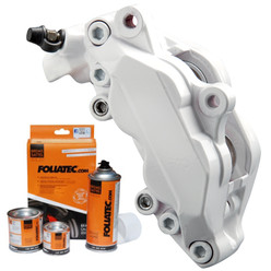 Foliatec White Brake Caliper Paint