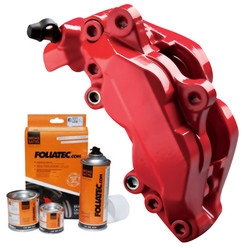 Foliatec Matt Red Brake Caliper Paint