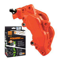 Foliatec Orange Fluo Brake Caliper Paint