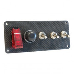 Carbon Fibre Starting Switch Panel