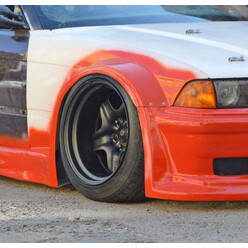 GTR Front Fenders for BMW E36 Coupe