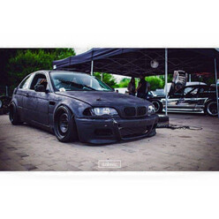 M3 Style Front Bumper for BMW E46