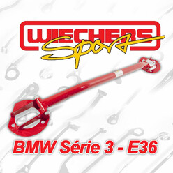 Wiechers Strut Braces for BMW E36, inc M3 & Compact (6 Cylinders)