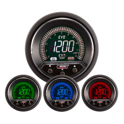 Prosport Evo EGT Gauge - Exhaust Temperature (1200°C, 4 Colors)