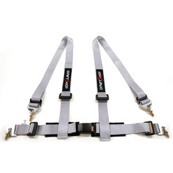 "DriftShop 4 Point Harness 2"" - Grey - Road Approved"