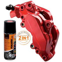 Foliatec Aerosol Red Brake Caliper Paint