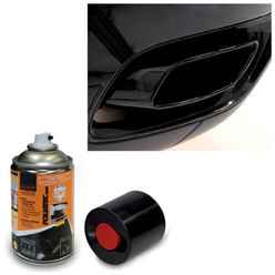 Foliatec Aerosol Black Exhaust Paint