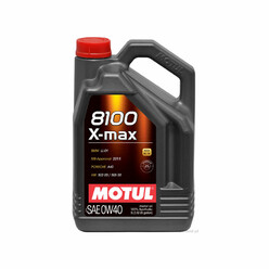 Motul X-Max Engine Oil - 0W40 8100 (BMW, Mercedes, Porsche, VAG) 5L