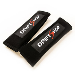 "DriftShop Harness Pads 3"" - Black (per pair)"