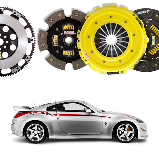 ACT Reinforced Clutches for Nissan 350Z 313 bhp (VQ35HR) | Official