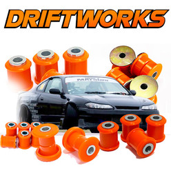 Driftworks Poly Bushes for Nissan 200SX, 300ZX, Skyline