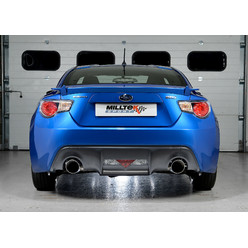 Milltek Catback for Subaru BRZ (Secondary Catback)