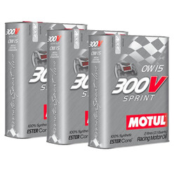 Motul 300V Sprint Engine Oil Promo Pack - 0W15 (2L)