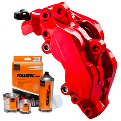 "Foliatec Red Fluo ""Neon Red"" Brake Caliper Paint"