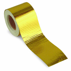 TRS Gold Heat Reflective Tape (50 mm x 9 m)