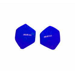 Sparco Universal Side Backrests - Blue (pair)