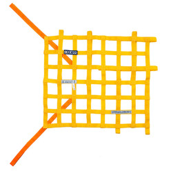 Sparco FIA Window Net - Yellow