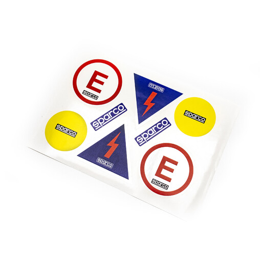 Sparco FIA Stickers Set (Cut Off & Extinguisher)