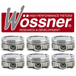 Wössner Forged Pistons for S50B30