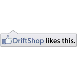 """DriftShop likes this"" Sticker"