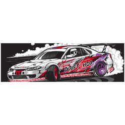 "DriftShop ""Silvia S15"" Stickers"