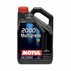 Motul 2000 Multigrade 20W50 Engine Oil (5L)