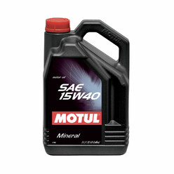 Motul SAE 15W40 Engine Oil (5L)
