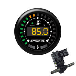 Innovate MTX-D E85 Digital E85 Content (% + Temperature) Gauge