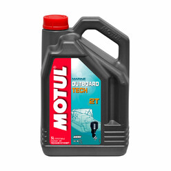 Motul Outboard Tech 2T Boat Oil (5L)