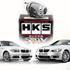 HKS Super SQV IV Blow Off Valve for BMW 135i & 335i