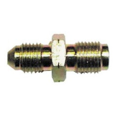Hydraulic Handbrake Fitting - Male 3/8 UNF Convex to Male 10x100 Concave